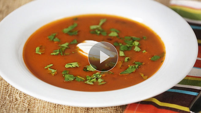 Quick, Healthy Black Bean Soup Recipe