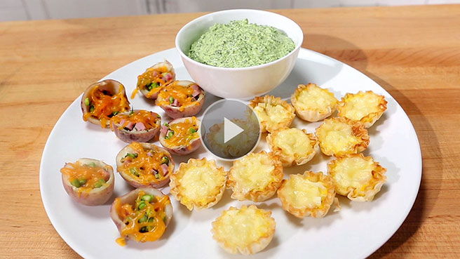 Healthy quick easy appetizer recipes eatingwell healthier appetizers finger foods forumfinder Images
