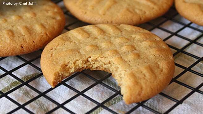 Chef John's Peanut Butter Cookies