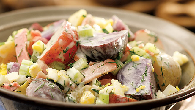 How to Make Healthier Potato Salad