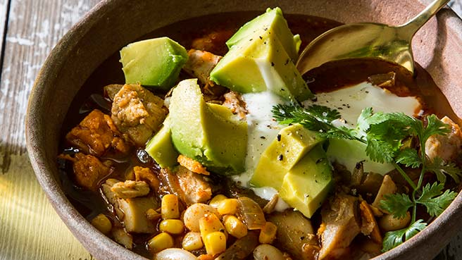 Low cholesterol dinner recipes eatingwell chicken chili with sweet potatoes forumfinder Images