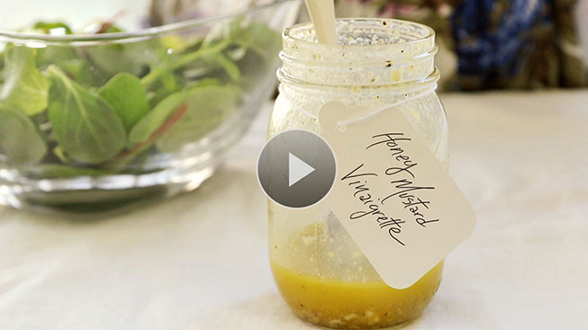Healthy Honey Salad Dressing