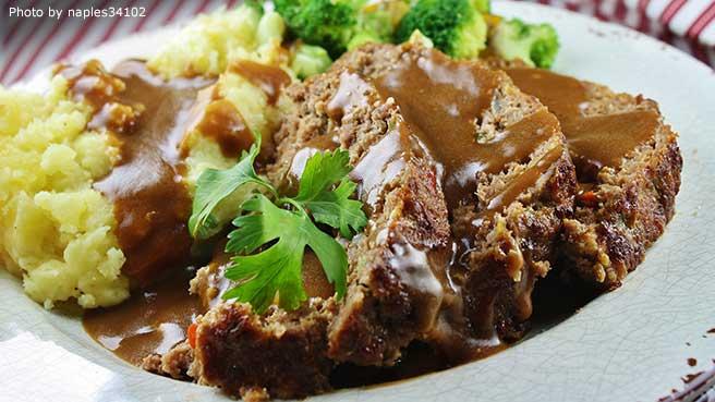 Chinese pork meatloaf recipe