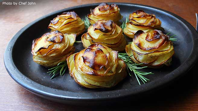 Chef John's Potato Roses
