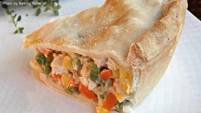campbells chicken pot pie recipe with pie crust