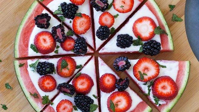 Diabetes-Friendly Fruit Pizza