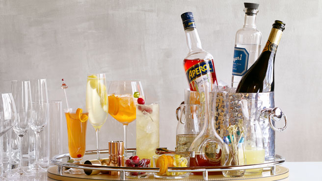 How to Build a Festive Cocktail Station