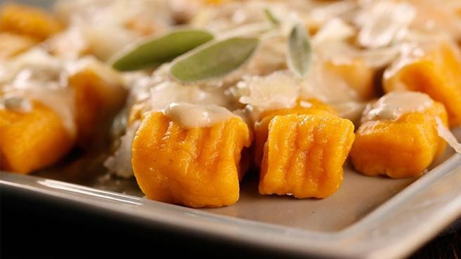 Gnocchi with Sage Cream Sauce