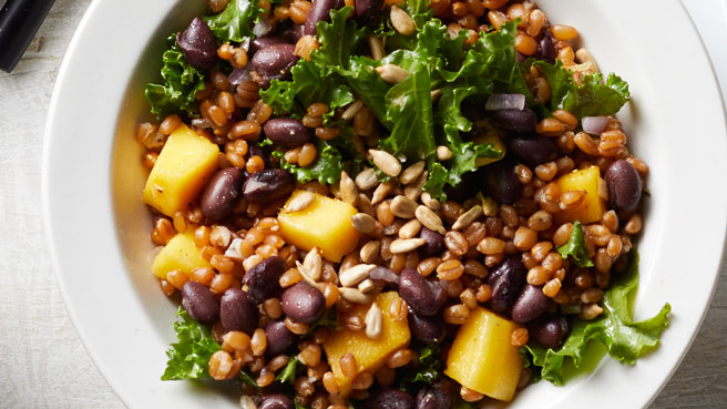 Black Bean, Mango & Kale Wheat Berry