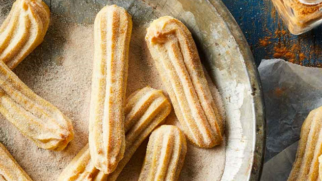 See How to Make Baked Churros