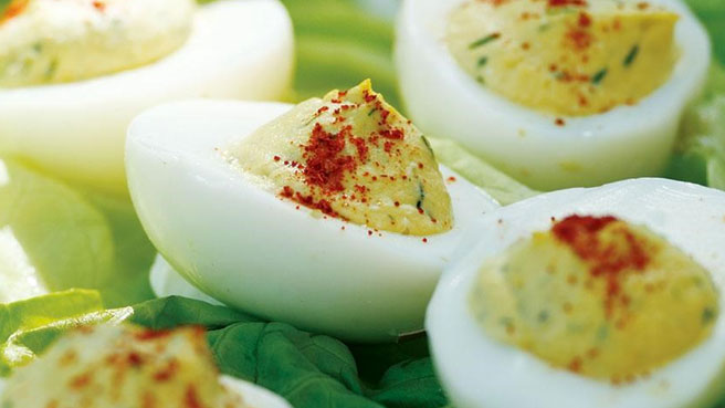 How to Make Healthier Deviled Eggs