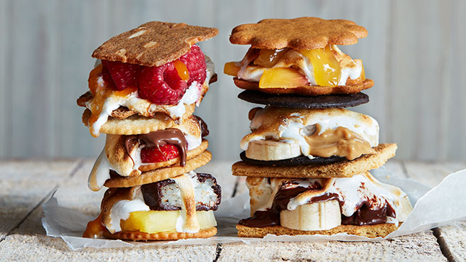 How to Make S'mores 4 Ways