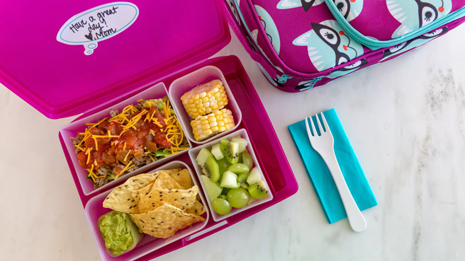 Pack-Your-Own Lunch Station for Kids