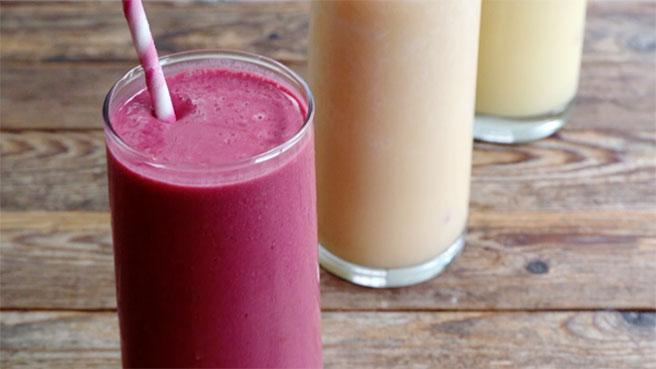 3-Ingredient Fruit Smoothies