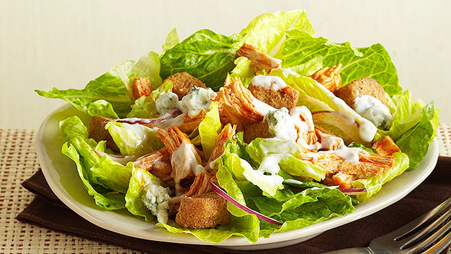 Buffalo Chicken Salads