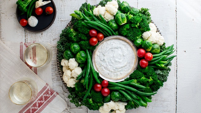 How to Make a Crudité Vegetable Platter