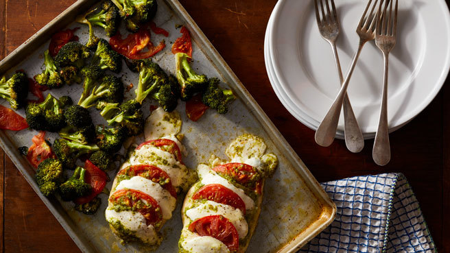 How to Make Hasselback Caprese Chicken
