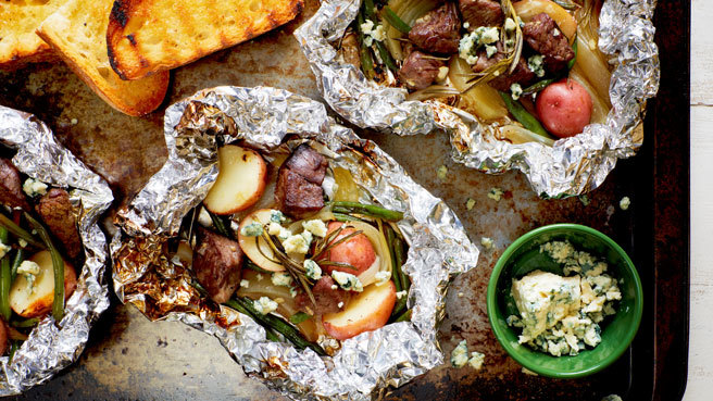 Steak & Potato Grill Packets