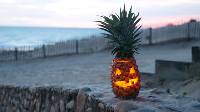 This Pineapple Jack-O'-Lantern Is GENIUS