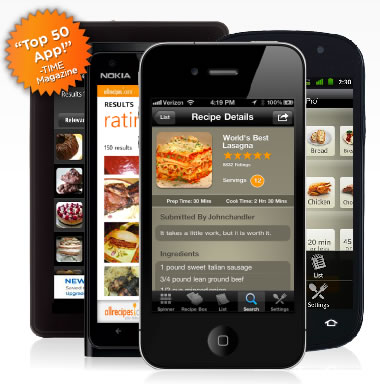 Mobile Applications - Allrecipes.com
