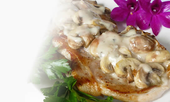 Mushroom Pork Chops