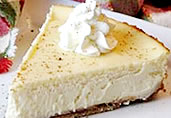 Eggnog Cheesecake