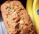Almost No Fat Banana Bread