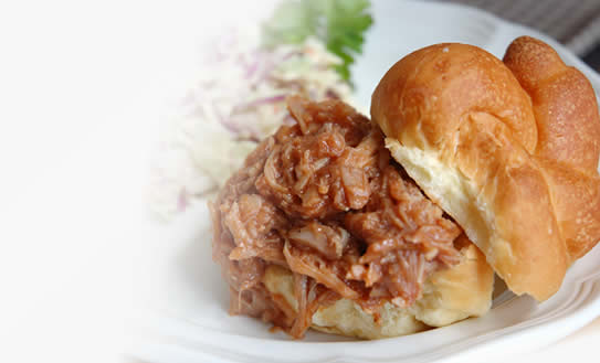 BBQ Pork for Sandwiches