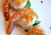Garlicky Shrimp Appetizers