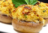 Garys Stuffed Mushrooms