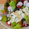 Chef John's Creamy Blue Cheese Dressing Recipe and Video - Grated blue cheese, instead of chunks, creates more blue cheese flavor in this easy, creamy dressing.