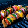 Yummy Honey Chicken Kabobs Recipe and Video - A marinade made with honey, soy sauce, pepper, and garlic puts a sweet coating on chicken pieces in this honey chicken shish kabob.