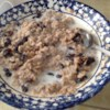 Mama Bear's Porridge Recipe - My Mama Bear made this for us all the time! Even oatmeal haters might like this version.  It's sweet and custardy, and keeps you full 'till lunchtime.  By the way, don't balk at the 'raw eggs' that get stirred in - the hot porridge cooks them completely.
