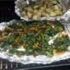 Grilled Kale Salad Recipe - Grilled kale is a quick and easy way to prepare kale and tasty to eat too. Mix kale, jalapeno peppers, olive oil, and a few other ingredients on a sheet of aluminum foil and grill!