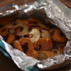 Karen's Cranberry Apple Sweet Potato Packet Recipe and Video - Slices of sweet potatoes, apples, and dried cranberries are baked or grilled in foil with brown sugar, butter, and cinnamon until tender for an easy side dish and no clean up.