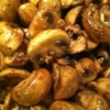 Balsamic Mushrooms Recipe - Garlic is perfumed and cooked in olive oil, then mushrooms are stirred in and a splash of balsamic vinegar and white wine are added. Two minutes later this terrific appetizer is ready for four lucky guests.