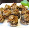 Stuffed Mushrooms Casino Recipe - Seasoned clams and breading provide a delicious stuffing for large fresh mushrooms. This wonderful appetizer features an exciting array of flavors and textures. It's certain to impress!