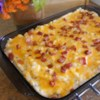 Twice Baked Potato Casserole With Bacon Recipe and Video - Twice baked potato casserole is a simple way to use all the ingredients for twice baked potatoes but in a creamy casserole-form.