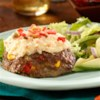 South of the Border Mashed Potatoes Meatloaf Recipe - Nothing is more American than meat and potatoes but that doesn't mean it can't have a Mexican twist on it!