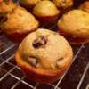 Pumpkin Chocolate Chip Muffins Recipe and Video - These easy pumpkin muffins are loaded with spices and chocolate chips and make a delicious fall treat.