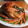 Chef John's Roast Turkey and Gravy Recipe and Video - The biggest myth in all of American cookery is the belief that a juicy, perfectly cooked turkey is difficult for the novice cook to achieve. One of the secrets to a moist, delicious, and beautiful turkey is spreading butter under the skin. You can season the butter any way you want; the possibilities are endless.