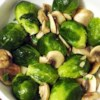 Brussels Sprouts with Mushrooms Recipe - Boiled Brussels sprouts tossed with sauteed mushroom and a sprinkling of parsley and lemon make a delicious everyday side dish.