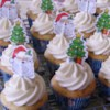 Eggnog Cupcakes Recipe - Stir your leftover eggnog into cupcake batter for a festive dessert during the holiday season. Top with homemade eggnog icing!