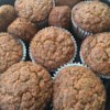 Vegan Apple Carrot Muffins Recipe - Grated carrot and apples, with applesauce and vegan egg replacer give these muffins a nice, moist texture.  The amount of egg replacer may vary based on the particular brand you use; use 6 eggs worth.