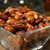 Sweet, Salty, Spicy Party Nuts Recipe and Video - Mix walnuts, pecans, almonds, and cashews with a sweet and salty spice mixture before roasting them to crunchy perfection.