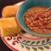 Southern Ham and Brown Beans Recipe - This is the same recipe my mother's side of the family has been making for years, with my own special touch. Serve it with all of the fixin's. It goes great with cornbread, fried potatoes and fried cabbage.