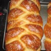 Miriam's Not-So-Secret Challah Recipe and Video - This recipe makes two beautiful braided loaves of sweet egg bread.