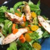 Grilled Orange Vinaigrette Chicken Salad Recipe - Lots of oranges in this one. There's orange juice in the dressing and mandarin orange sections in the salad. And the grilled chicken is basted and grilled with a bit of the orange marinade.