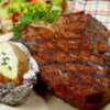 Rock's T-Bone Steaks Recipe - Rocky's blend of seasonings including paprika, coriander, and turmeric makes any steak awesome! Try it on t-bones or ribeyes.