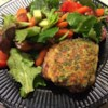 Rosemary Pesto-Crusted Lamb Steaks Recipe - Boneless lamb steaks are coated with a rosemary-Parmesan cheese crust, and pan-fried to perfection!